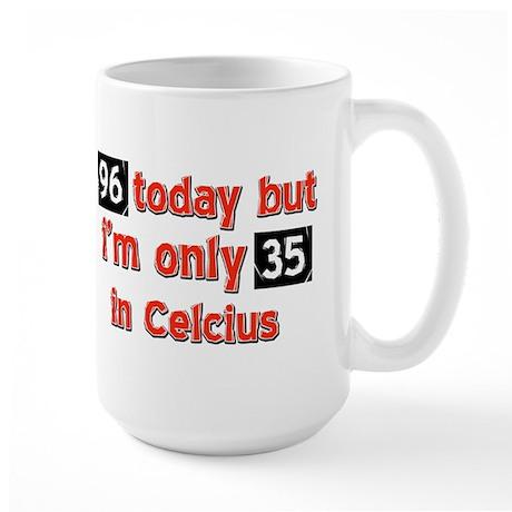 96 year old designs Large Mug