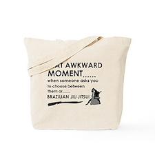 Cool Brazilian Jiu Jitsu designs Tote Bag
