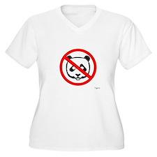 No Panda (Canada) Plus Size T-Shirt