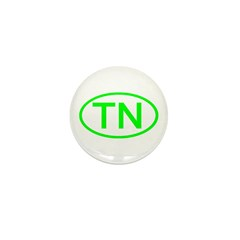 TN Oval - Tennessee Mini Button (10 pack)