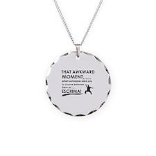 Cool Escrima designs Necklace