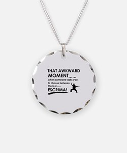 Cool Escrima designs Necklace