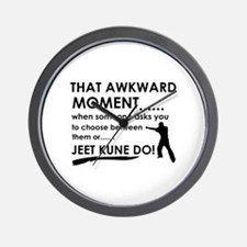 Cool Jeet Kune Do designs Wall Clock
