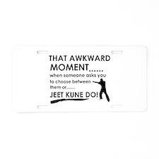 Cool Jeet Kune Do designs Aluminum License Plate