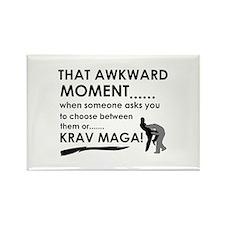 Cool Krav Maga designs Rectangle Magnet