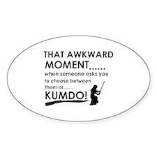 Cool Kumdo designs Decal