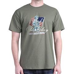 Old Glory Robot Insurance T-Shirt