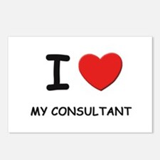 I love consultants Postcards (Package of 8)