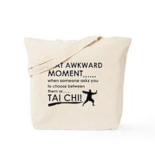 Cool Tai Chi designs Tote Bag