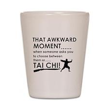 Cool Tai Chi designs Shot Glass