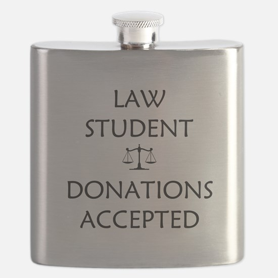 Law Student - Donations Accepted Flask