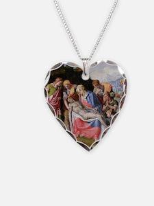 Pieta @oil on canvasA - Necklace