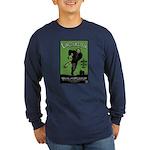 Strk3 Lincolnstein Long Sleeve Dark T-Shirt