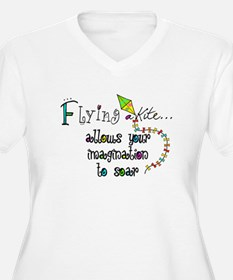flying a kite 2013 Plus Size T-Shirt