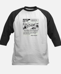 Current Education System Baseball Jersey
