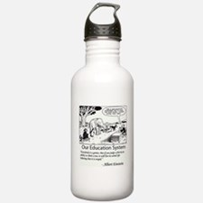 Current Education System Water Bottle
