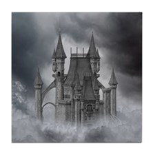 Dark Castle Tile Coaster