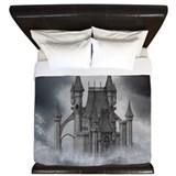 Dark castle King Duvet Covers