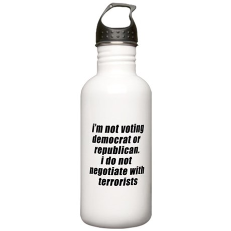 Politics Water Bottle