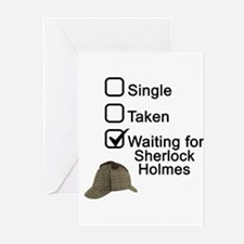 Waiting for Sherlock Greeting Cards (Pk of 20)