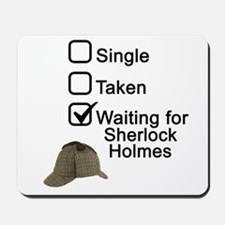 Waiting for Sherlock Mousepad