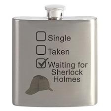 Waiting for Sherlock Flask