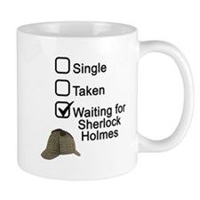 Waiting for Sherlock Small Mug