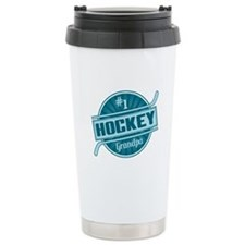 #1 Hockey Grandpa Travel Mug