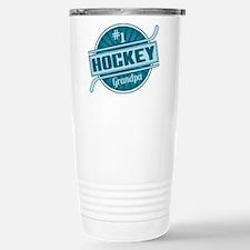 #1 Hockey Grandpa Travel Mug