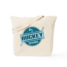 #1 Hockey Grandpa Tote Bag
