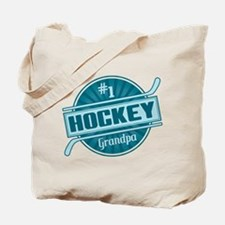 #1 Hockey Grandpa Tote Bag