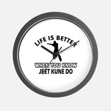 Jeet Kune Do Vector designs Wall Clock