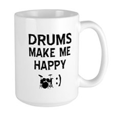 Drums musical instrument designs Coffee Mug