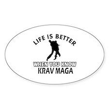 Krav Maga Vector designs Decal