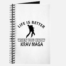 Krav Maga Vector designs Journal
