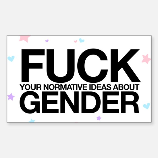 F*CK GENDER Decal
