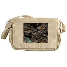 the enchanted village Messenger Bag