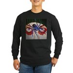Spider Dan Long Sleeve Dark T-Shirt