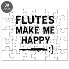 Flutes musical instrument designs Puzzle