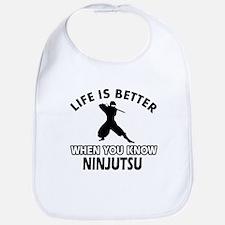 Ninjutsu Vector designs Bib