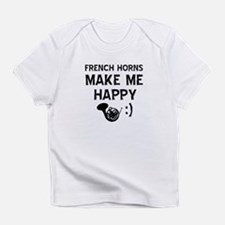 French Horns musical instrument designs Infant T-S