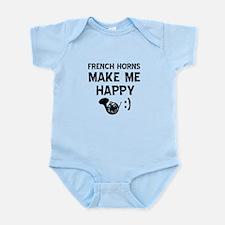 French Horns musical instrument designs Infant Bod