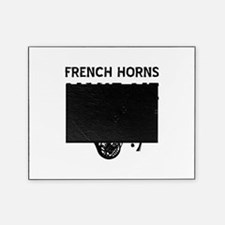 French Horns musical instrument designs Picture Frame