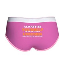 Always be a unicorn Women's Boy Brief