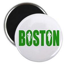 """Boston Green 2.25"""" Magnet (100 pack)"""