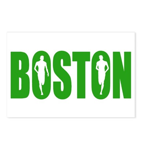 Boston Green Postcards (Package of 8)