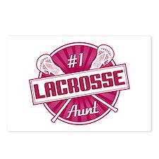 #1 Lacrosse Aunt Postcards (Package of 8)