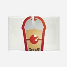 Bubble Tea Rectangle Magnet