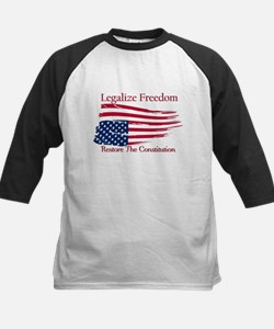 Legalize Freedom, Restore the Constiution Tee
