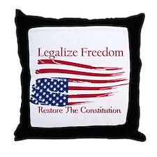 Legalize Freedom, Restore the Constiution Throw Pi